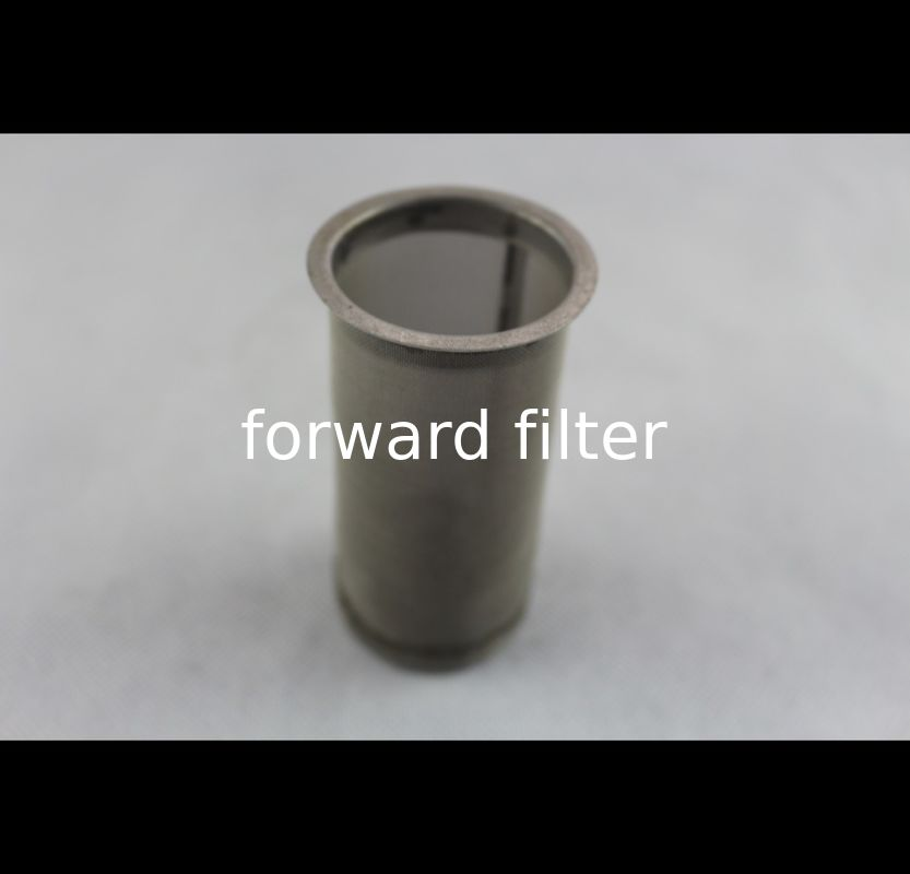 Square Hole Stainless Steel Mesh Tube Filter High Strength Structure Mechanic